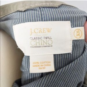 J. Crew Jackets & Coats - J. Crew Army Green Twill Chino Utility Jacket
